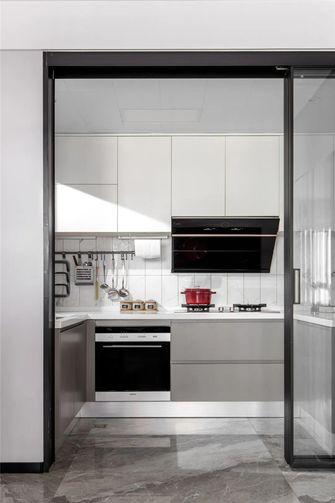 110平米四现代简约风格厨房图片大全