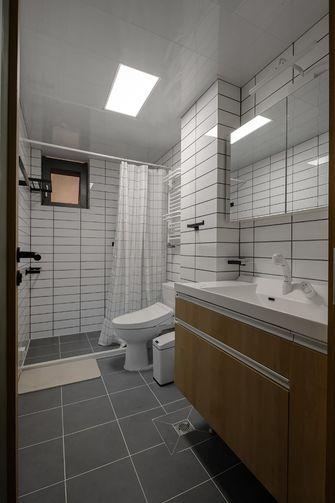 90平米三日式风格卫生间装修案例