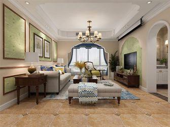 140平米复式田园风格客厅设计图
