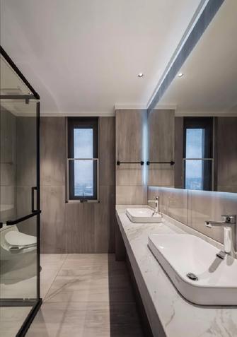 120平米三室两厅现代简约风格卫生间设计图