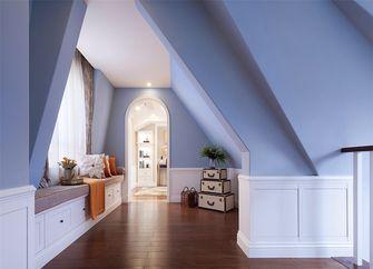 110平米三室两厅美式风格阁楼装修图片大全