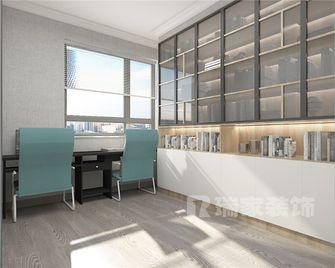 120平米现代简约风格书房效果图