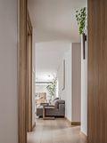 90平米三室一厅日式风格玄关欣赏图
