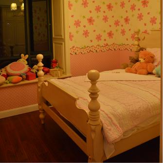 110平米日式风格卧室图