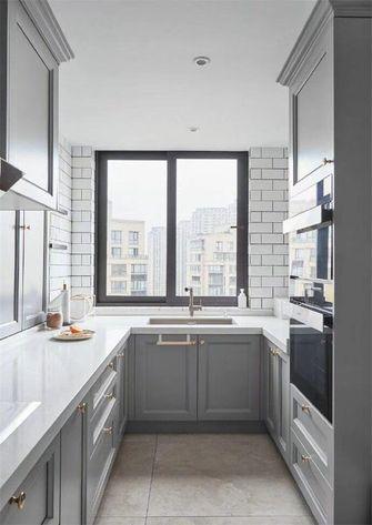 80平米一室一厅欧式风格厨房设计图