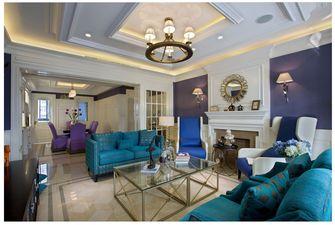 豪华型140平米四室四厅其他风格客厅装修案例