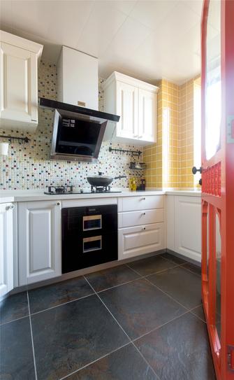120平米三室两厅北欧风格厨房欣赏图