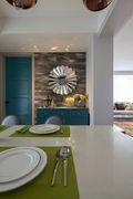 5-10万80平米美式风格餐厅装修案例