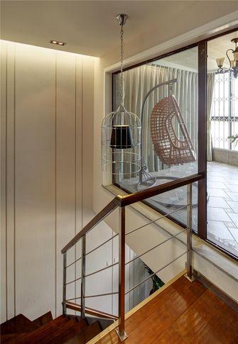 140平米复式混搭风格楼梯装修效果图