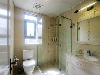 80平米一室一厅田园风格卫生间欣赏图