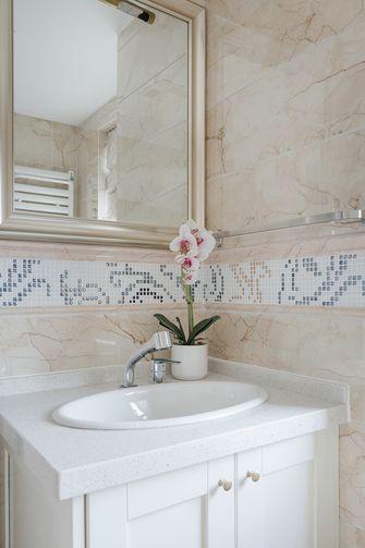 140平米四室一厅美式风格卫生间欣赏图