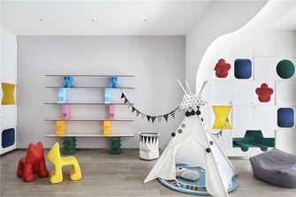 5-10万110平米三室两厅北欧风格书房效果图