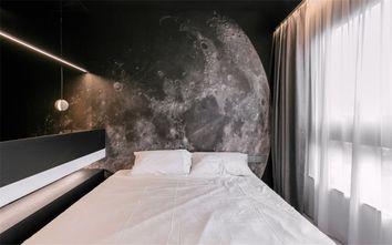 60平米一室一厅现代简约风格卧室效果图