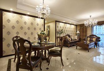 120平米四室一厅新古典风格客厅设计图