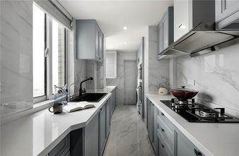 80平米三室两厅美式风格厨房设计图