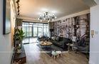 富裕型130平米三室两厅北欧风格客厅设计图