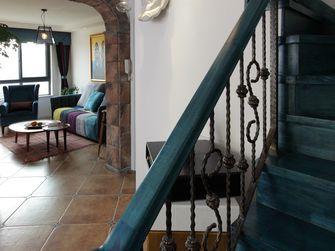 5-10万140平米三室一厅田园风格楼梯效果图
