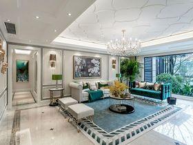 140平米四室兩廳現代簡約風格客廳裝修圖片大全
