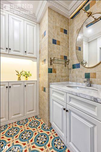 120平米三室两厅现代简约风格卫生间浴室柜图片大全