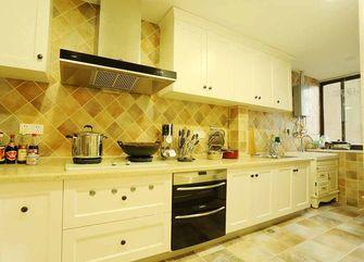 140平米三室一厅英伦风格厨房效果图