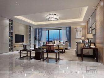 140平米三室一厅中式风格客厅图