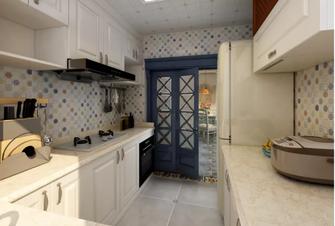 120平米三地中海风格厨房设计图