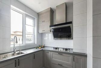 130平米三美式风格厨房设计图