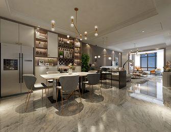 140平米三室一厅其他风格餐厅装修图片大全