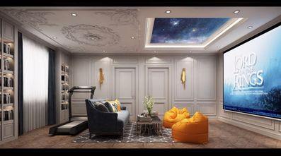 140平米四室两厅美式风格影音室欣赏图