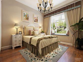 80平米田园风格卧室家具装修效果图