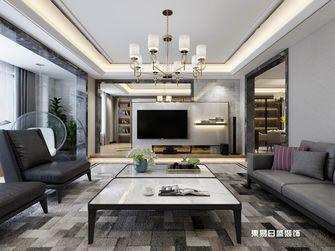 140平米四室三厅中式风格客厅图片大全