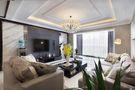 130平米三室两厅现代简约风格客厅吊顶图片大全