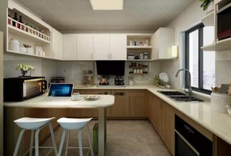 110平米混搭风格厨房装修图片大全