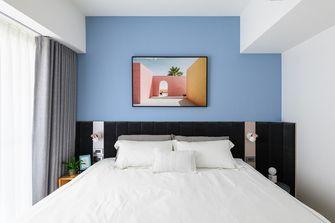 60平米一室两厅北欧风格卧室装修效果图