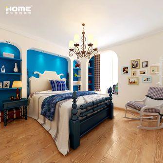 120平米三室两厅地中海风格健身室装修图片大全