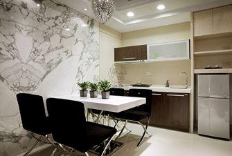 60平米一室两厅新古典风格餐厅设计图