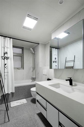 90平米三室一厅法式风格卫生间装修案例