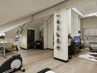 140平米四室两厅混搭风格阁楼效果图