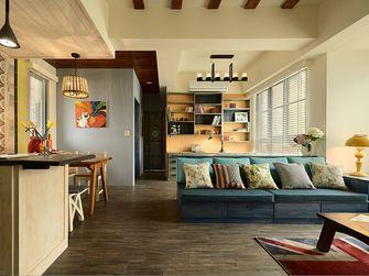 富裕型80平米一室两厅田园风格客厅欣赏图