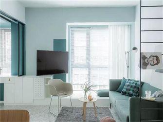 70平米宜家风格客厅装修案例