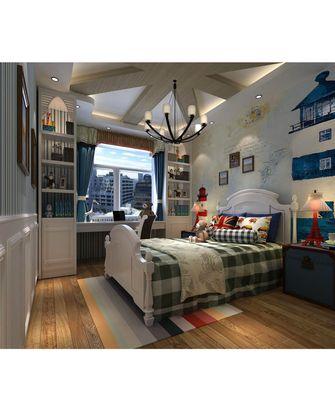 富裕型130平米四室两厅东南亚风格儿童房装修图片大全