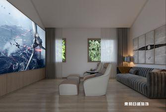 140平米别墅日式风格影音室装修效果图