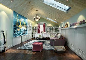 20万以上140平米别墅田园风格阁楼装修案例