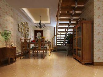 15-20万140平米四室三厅田园风格楼梯装修案例