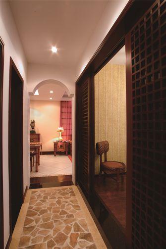 富裕型120平米三室两厅东南亚风格走廊图片