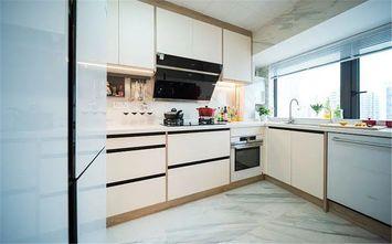 130平米三室两厅日式风格厨房设计图