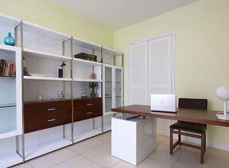 130平米三室一厅现代简约风格书房图片大全