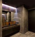 60平米一居室混搭风格卫生间装修案例