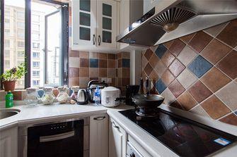 130平米四室两厅田园风格厨房装修图片大全