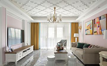 5-10万140平米三室一厅法式风格阳台装修案例